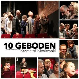 """""""10 Geboden"""" Een co-productie van Theater de WAANzin en Theater TRAC"""